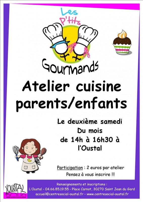 Atelier parents enfants la galette des rois oustal for Affiche pour cuisine